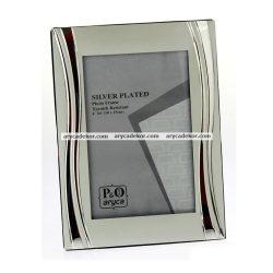 Silver fém képkeret 15x20 cm