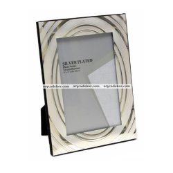 Silver fém képkeret 13x18 cm