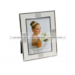 Esküvői fém képkeret 13x18 cm