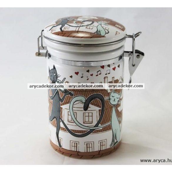 Porcelán konyhai tároló
