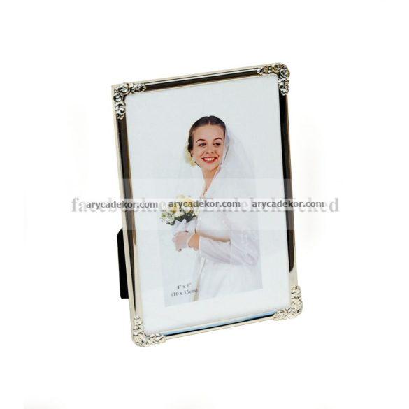 Esküvői képkeret 15x20 cm