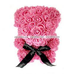 Rózsamaci 36 cm magas 27 cm széles (lila)