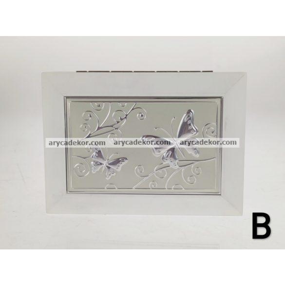 Ékszerdoboz fiókkal 18x13 cm