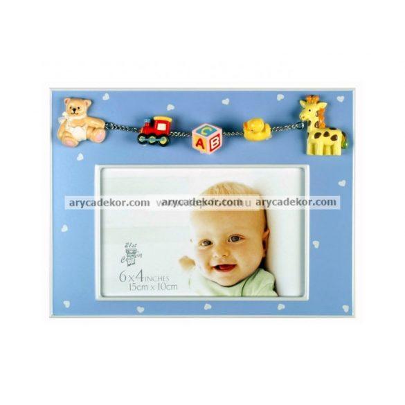 Baby boy & girl  képkeret 10x15 cm