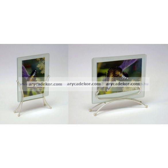 Üvegképkeret 10x15cm álló és fekvő kivitelben