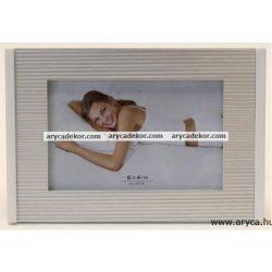 Fém fotóképkeret 10x15 cm