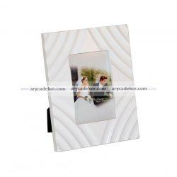 Fa MDF fehér képkeret 10x15 cm