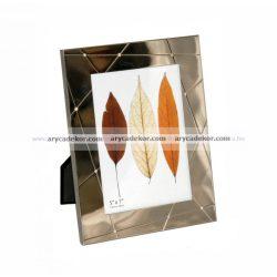 Krómozott fém képkeret 13x18 cm