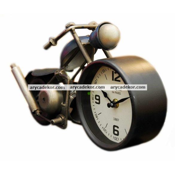 Asztali óra (motor kék)