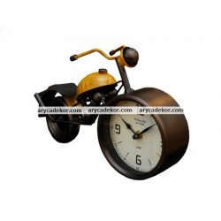 Asztali óra (motor sárga)