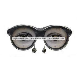 Asztali óra (szemüveg)