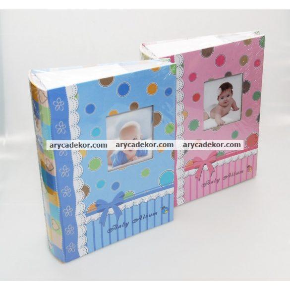 Fotóalbum baby bedugós, melléírhatós 10x15 cm/300 db