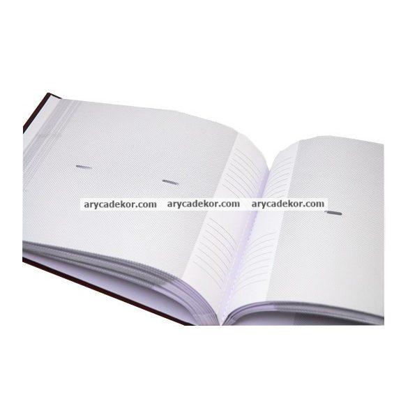 Fotóalbum bedugós classic melléírhatós 10x15 cm/100 db