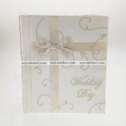 Bőrhatású bedugós esküvői fotóalbum 10x15 cm/100 db