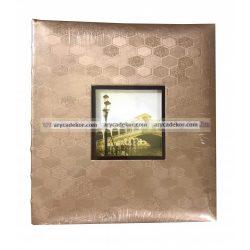 Fotóalbum, bőrhatású bedugós melléírhatós 10x15 cm/100 db