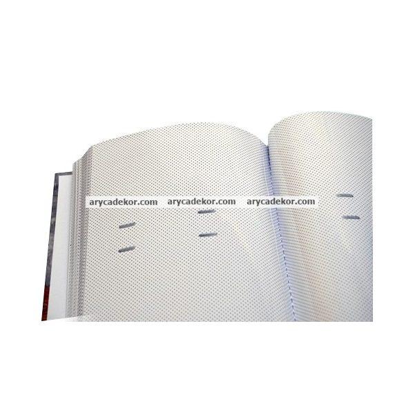 Fotóalbum bedugós memós könyvkötéssel varrott oldalak 10x15 cm/200 db