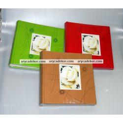 Fotóalbum bedugós, melléírhatós 10x15 cm/200 db