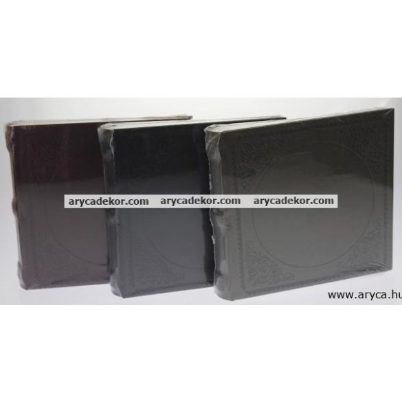 Fotóalbum bőrhatású bedugós melléírhatós 10x15 cm/200 db