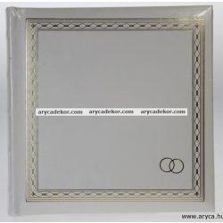 Bedugós esküvői melléírhatós fotóalbum 10x15 cm/200 db