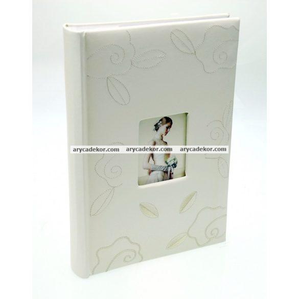 Fotóalbum esküvői bedugós melléírhatós 10x15 cm/293 db
