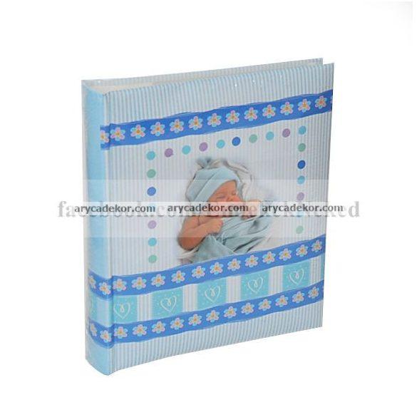 Fotóalbum baby bedugós melléírhatós 10x15 cm/50 db