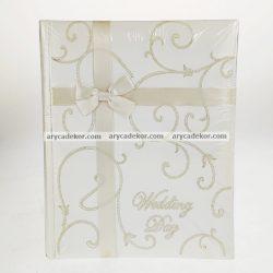 Bőrhatású bedugós esküvői fotóalbum 13x18 cm/48 db
