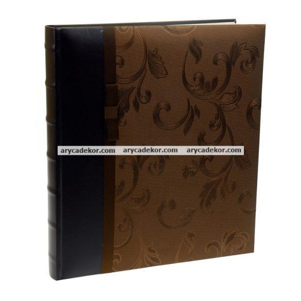 Bőrhatású öntapadós fotóalbum 29x32 cm 40 oldal