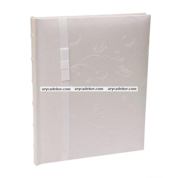 Bőrhatású hagyományos (beragasztós) fotóalbum 24x29 cm 40 oldal