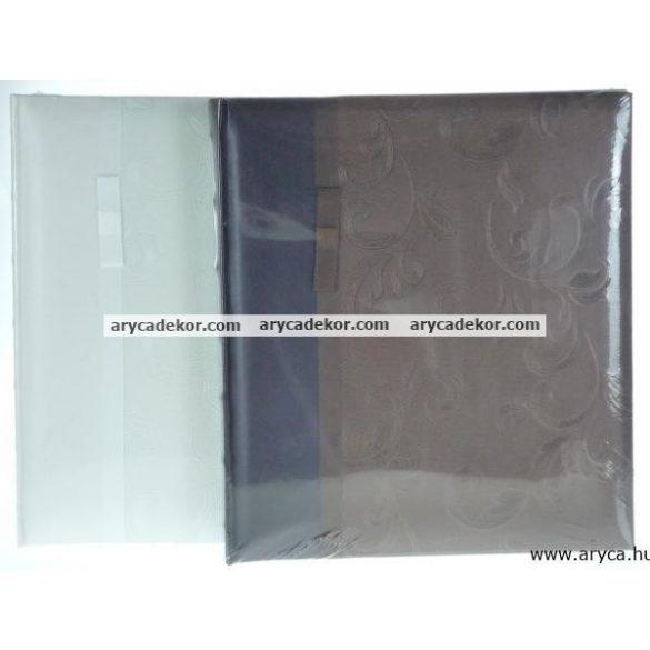 Bőrhatású fotósarkos (hagyományos) fotóalbum  29x32 cm/40 oldal