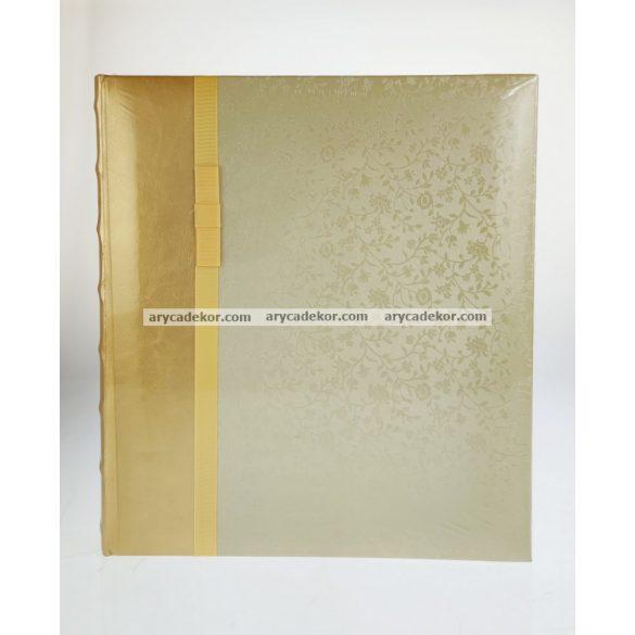 Hagyományos (beragasztós) bőrhatású fotóalbum 29x32 cm 60 oldal