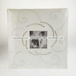 Esküvői beragasztós (fotósarkos) fotóalbum 60 oldal 29x29 cm
