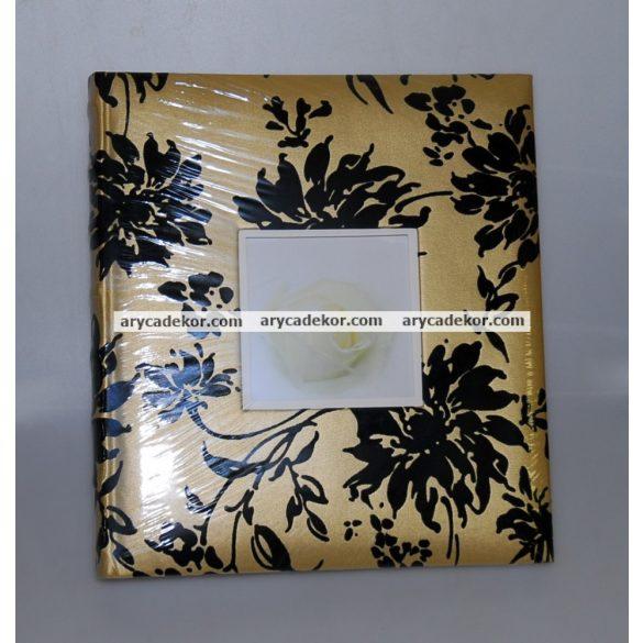 Hagyományos (beragasztós) bőrhatású fotóalbum 32x32 cm 60 oldal