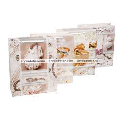 Esküvői ajándéktasak méret: nagy (32x26 cm) 12 db/csomag