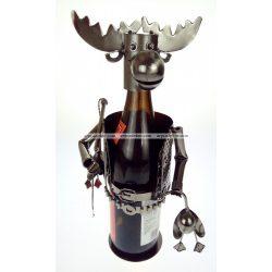 Fém bortartó jávorszarvas