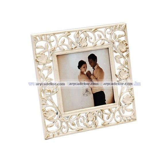 Esküvői képkeret 9x9 cm