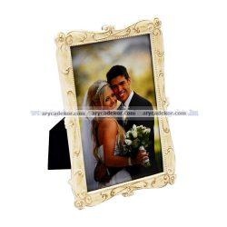 Esküvői festett képkeret 10x15 cm