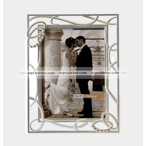 Esküvői képkeret 13x18 cm