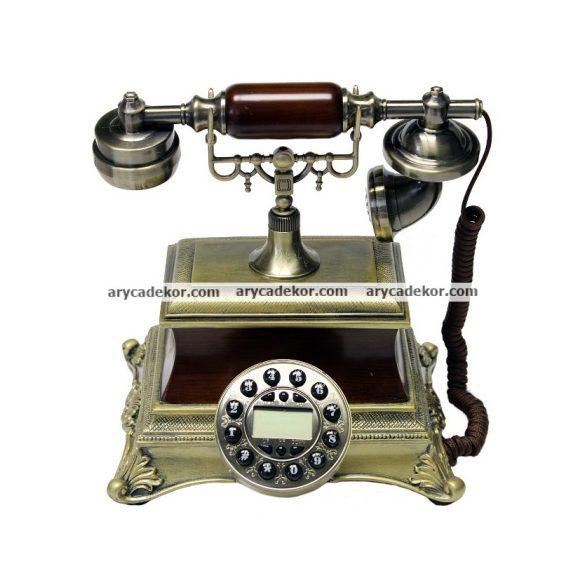 Antik jellegű asztali telefon