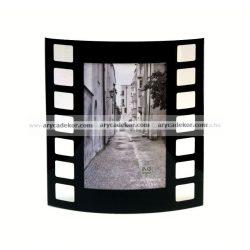 """Álló hajlított üveg képkeret 10x15 cm  """"film"""""""