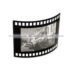 """Fekvő hajlított üveg képkeret 10x15 cm  """"film"""""""