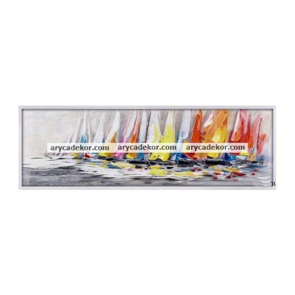 Vászon falikép 50x150 cm