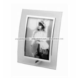 Álló hajlított üveg képkeret 13x18 cm