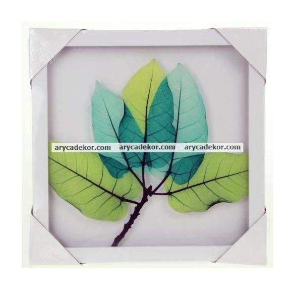 Falikép üveglappal műanyag keretben 25x25 cm