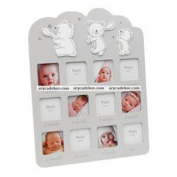 Baby MDF képkeret 12 hónap