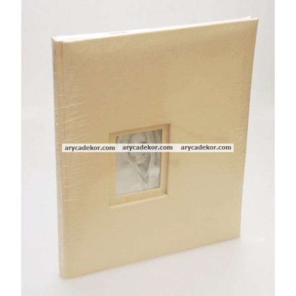 Esküvői beragasztós (hagyományos) fotóalbum 20 oldal 24x29 cm