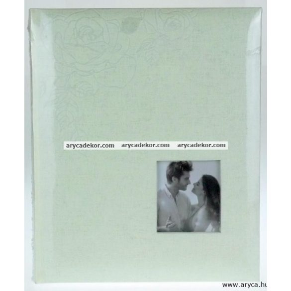 Esküvői fotósarkos fotóalbum 30 lap 24x29 cm