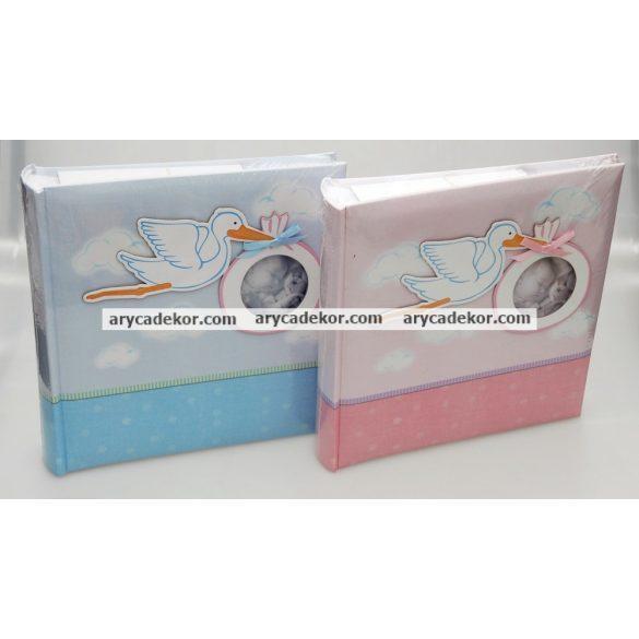 Fotóalbum baby bedugós melléírhatós 10x15 cm / 200 db