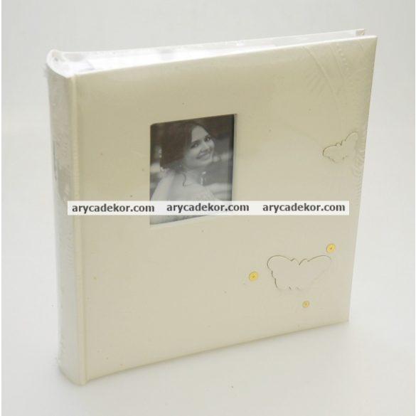 Esküvői bedugós melléírhatós fotóalbum 10x15 cm/200 db