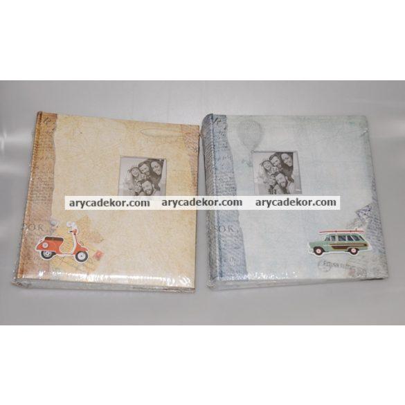 Fotóalbum bedugós melléírhatós 10x15 cm/200 db