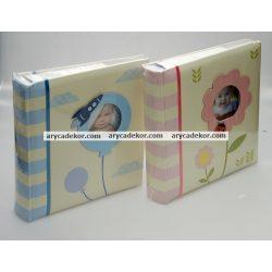 Baby bedugós fotóalbum melléírhatós  10x15 cm/200 db